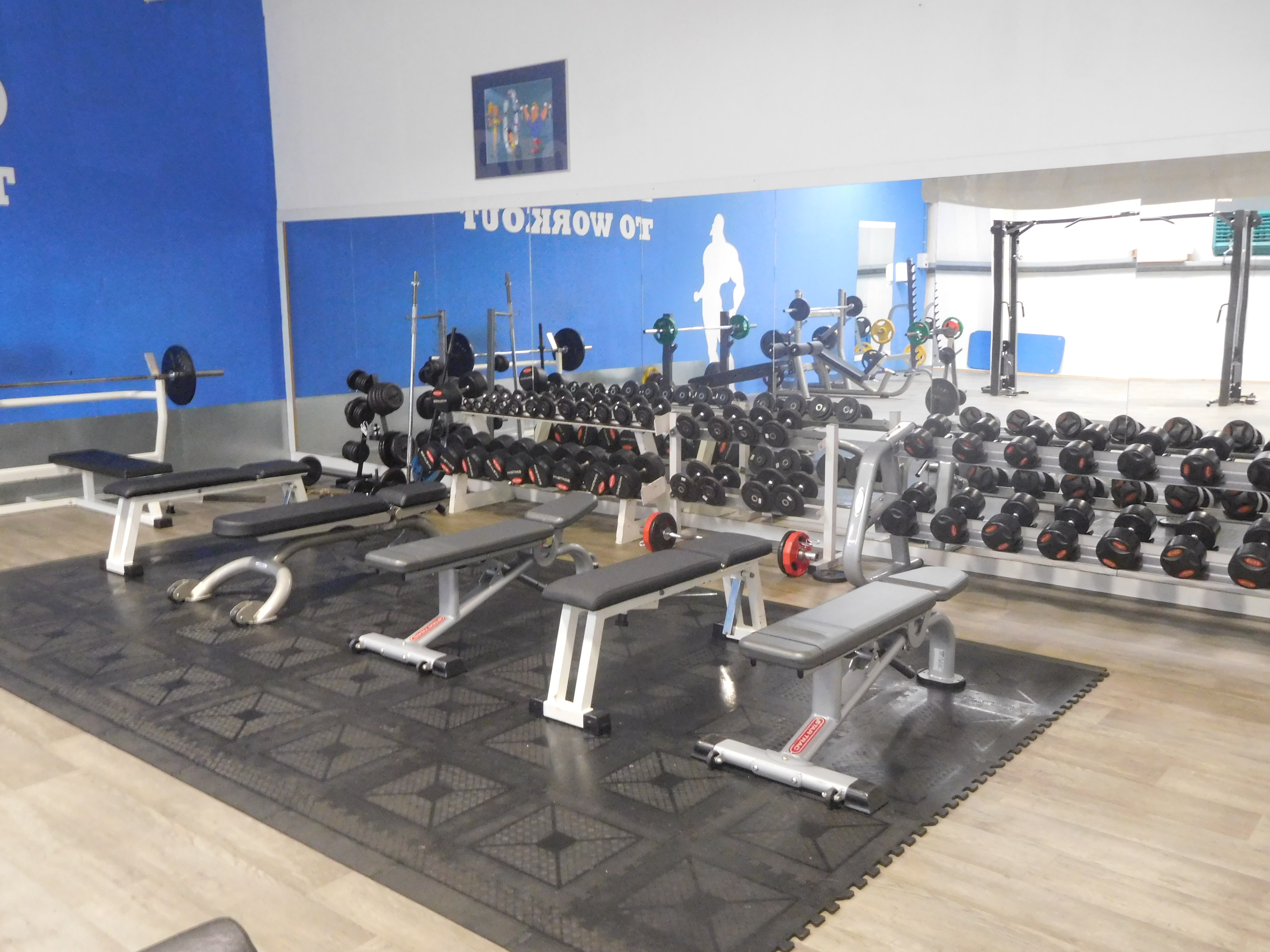 Sportstudio Workout