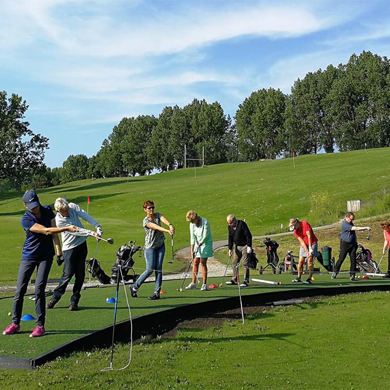 Maak gratis kennis met golf
