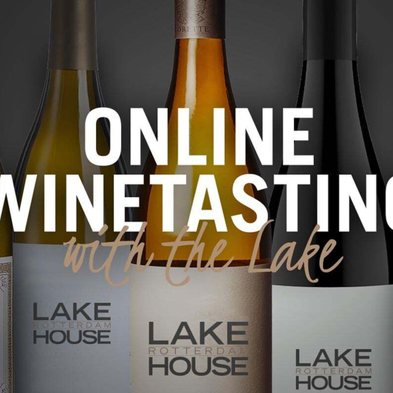 Online Winetasting van Lake House